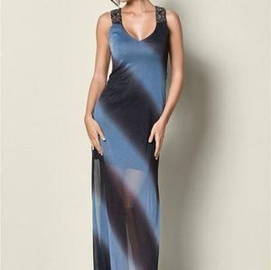 Venus ombre evening gown